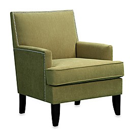 Madison Park Colton Track Arm Club Chair in Green