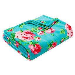 Betsey Johnson® Bouquet Day Plush Throw