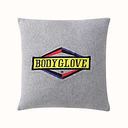 Body Glove® Embroidered Logo Throw Pillow in Grey