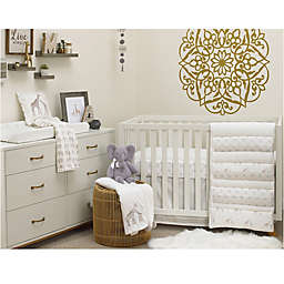 NoJo Serendipity 4-Piece Crib Bedding Set in Taupe