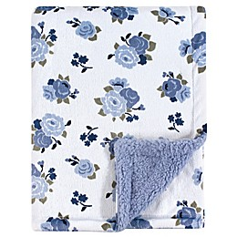 Luvable Friends® Floral Sherpa Blanket