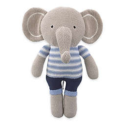 Cuddle Me Landon Knitted Plush Elephant
