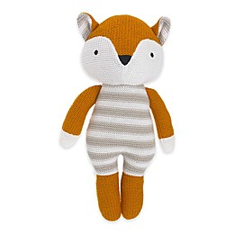 Cuddle Me Tobey Knitted Plush Fox