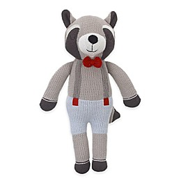 Cuddle Me Hudson Knitted Plush Raccoon