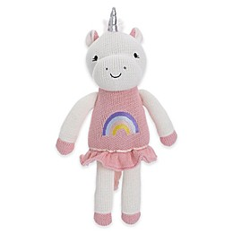 Cuddle Me Mackenzie Knitted Plush Unicorn