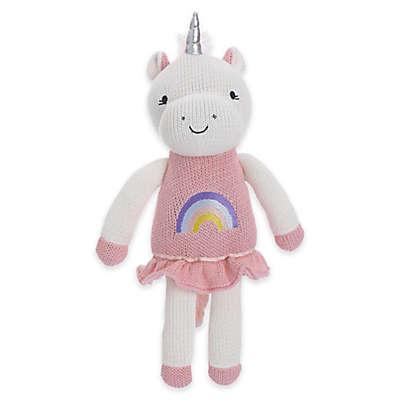 Cuddle Me Mackenzie Knitted Plush Unicorn