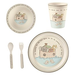 Precious Moments® Noah's Ark 5-Piece Child's Place Setting