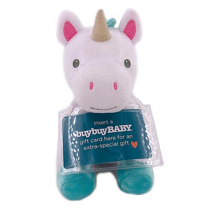 Kids Preferred Plush Unicorn With Gift Card Holder Bed Bath Beyond