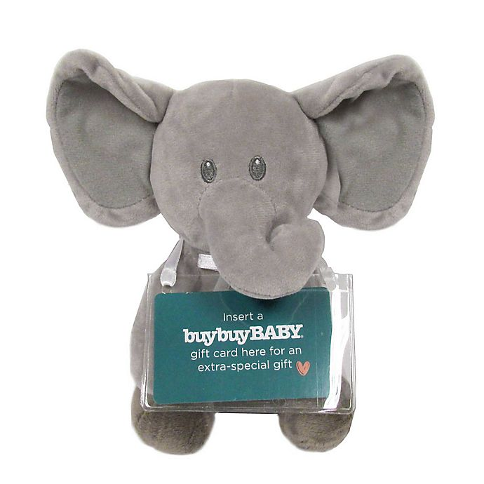 Kids Preferred Plush Elephant With Gift Card Holder Bed Bath Beyond