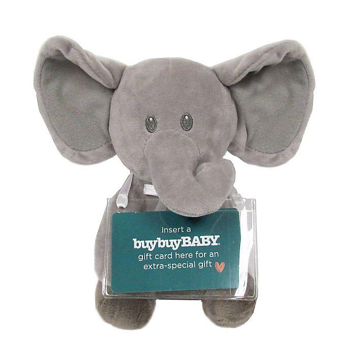 Pink Elephants and Noahs Ark Christening Card