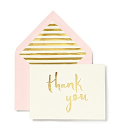 kate spade new york Bridal Thank You Cards (Set of 10)