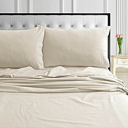 Tribeca Living® Solid Flannel Sheet Set