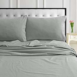 Tribeca Living Solid 170 GSM Flannel Twin XL Sheet Set