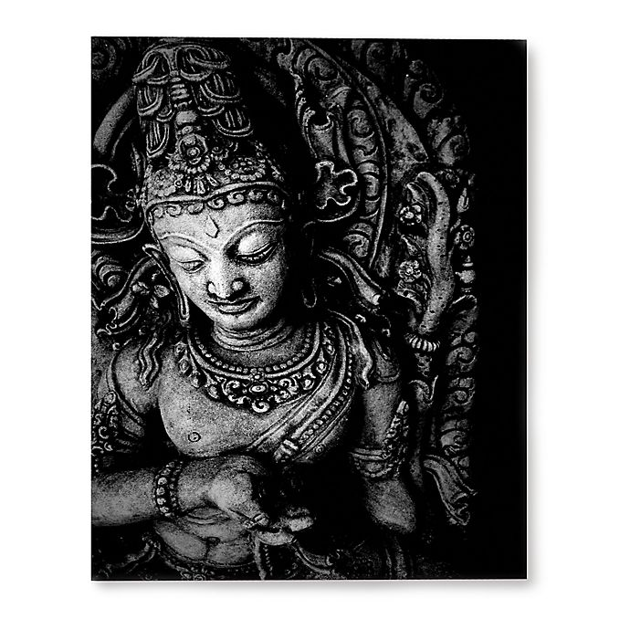 Alternate image 1 for Buddha 8-Inch x 10-Inch Canvas Wall Art