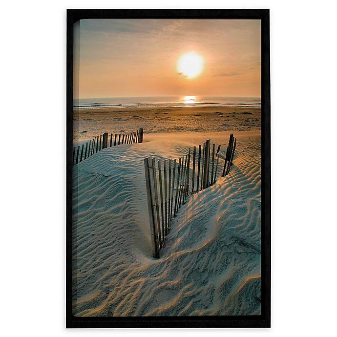 Alternate image 1 for Sunrise Over Hatteras 14-Inch x 18-Inch Framed Wall Art