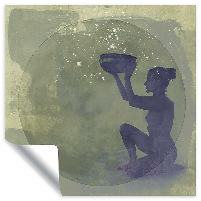 Alternate image 1 for Elena Ray 14-Inch Square Astral Goddess Removable Vinyl Wall Decal