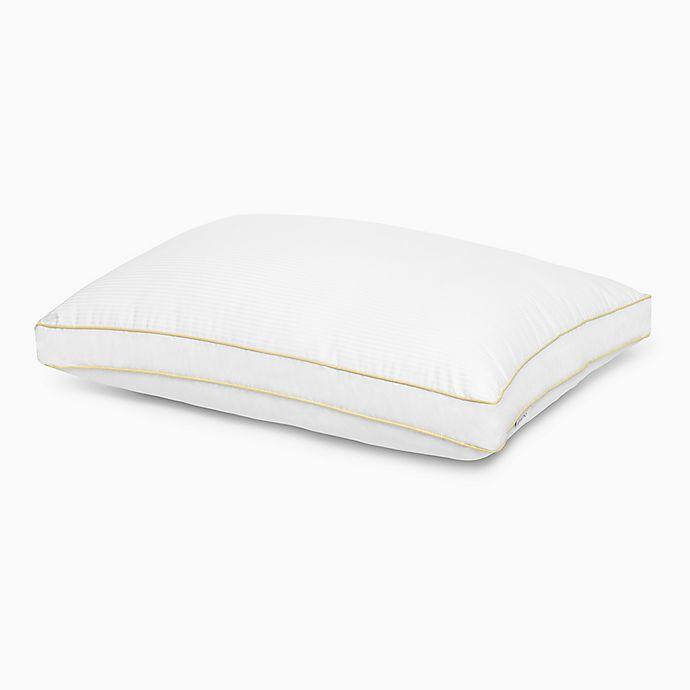 Alternate image 1 for Calvin Klein® Luxury Flag Side Sleeper Pillow in White