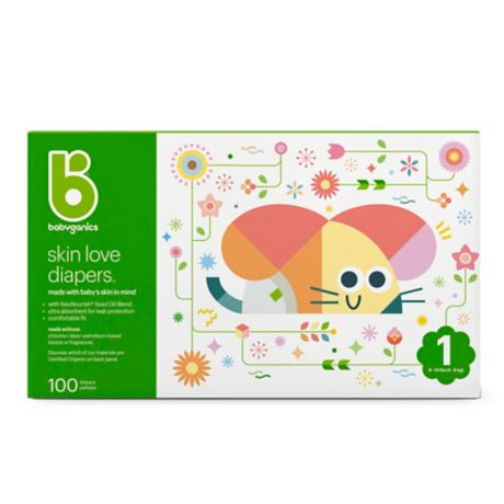 Babyganics Ultra Absorbent Diapers Size 3 78 Count