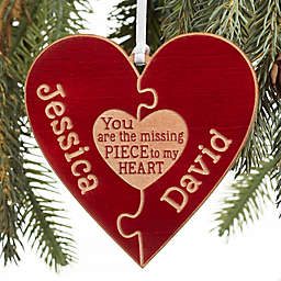 Perfect Match Personalized Ornament