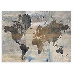 Stone World Canvas Wall Art