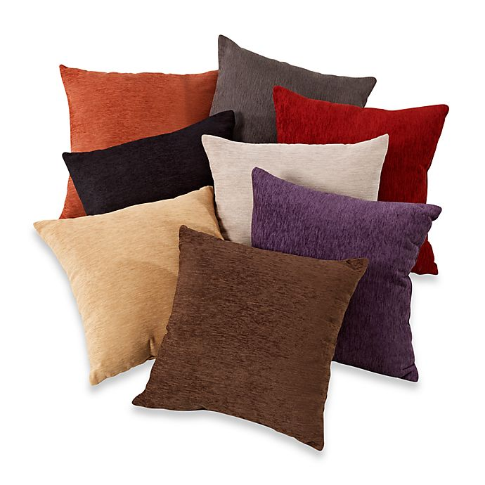 Crown Chenille Throw Pillow (Set Of 2)