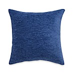 Crown Chenille Throw Pillow in Blue (Set of 2)