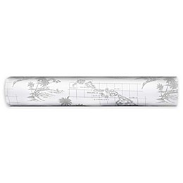 Tommy Bahama® Vintage Map Sheet Set in Grey