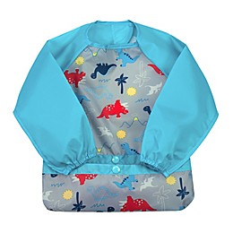 green spouts® by i play® Snap & Go Long Sleeve Bib