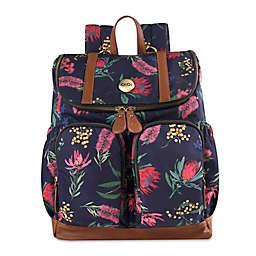 OiOi Australian Floral Backpack Diaper Bag