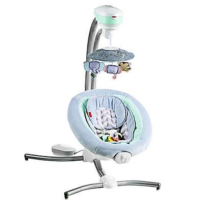 Fisher-Price® Sweet Surroundings Cradle 'n Swing in Grey/Green
