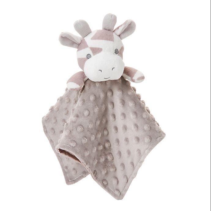 Alternate image 1 for Elegant Baby® Giraffe Blankie Buddy in Taupe