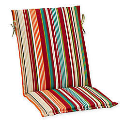 Destination Summer Stripe Sling Back Indoor/Outdoor Cushion