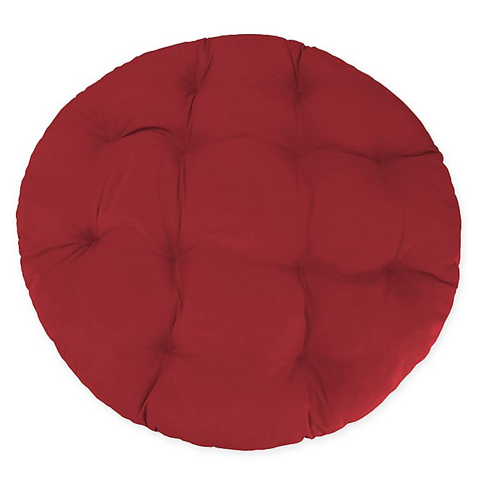 Alternate image 1 for Medford Solid Indoor/Outdoor Papasan Chair Cushion in Cherry