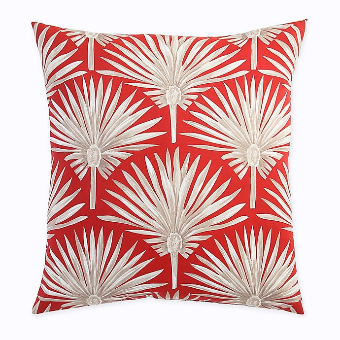 Alternate image 1 for Print Outdoor Deep Seat Back Cushion in Spice Palm