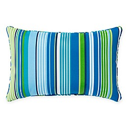 Stripe 13-Inch x 20-Inch Oblong Indoor/Outdoor Throw Pillow