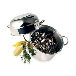 Demeyere 3.2-Quart Stainless Steel Mussel Pot