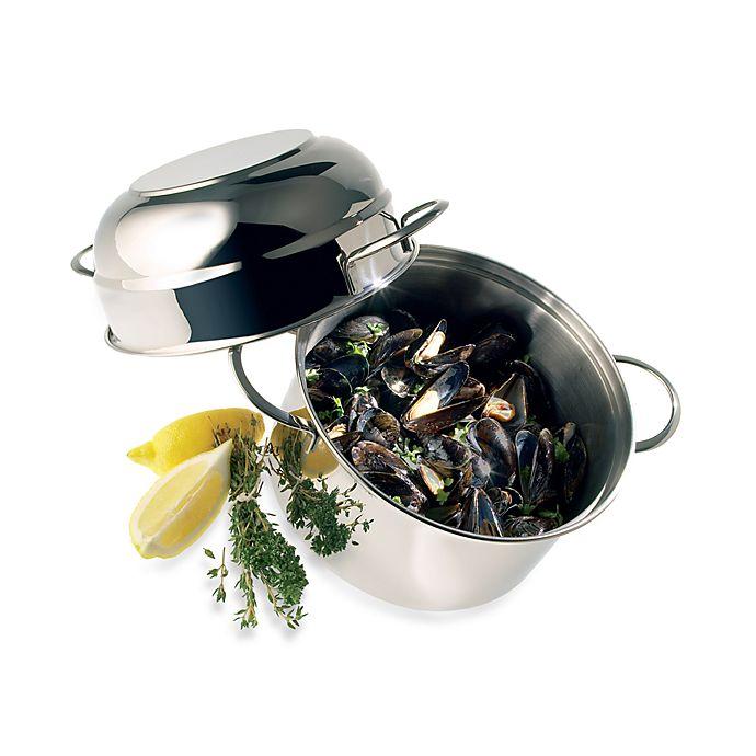 Alternate image 1 for Demeyere 3.2-Quart Stainless Steel Mussel Pot