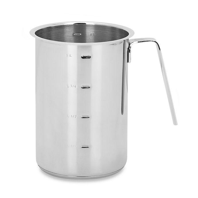 Alternate image 1 for Demeyere 1.2-Quart Stainless Steel High Sauce Pot