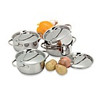 Demeyere 4-Piece Covered Mini Dutch Oven Set