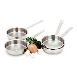 Demeyere Four-Piece Mini Saute Pan Set