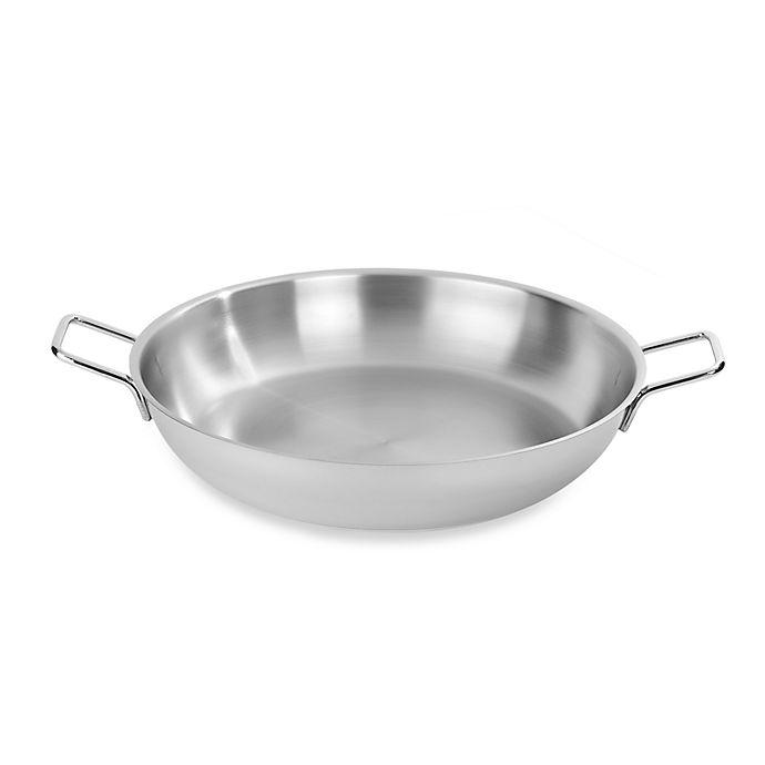 Alternate image 1 for Demeyere 14.8-Quart Stainless Steel Paella Pan