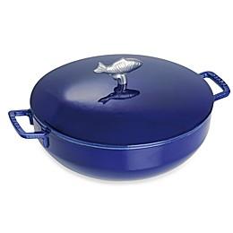 Staub 5-Quart Bouillabaisse Cocotte in Dark Blue