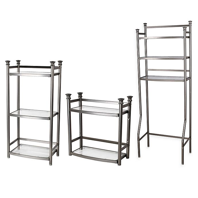 Alternate image 1 for ORG™ Bathroom Shelving Collection