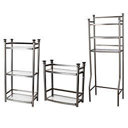 ORG™ 3-Tier Shelf Tower in White