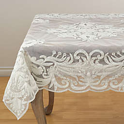 Saro Lifestyle Alessandra Beaded Table Linen Collection