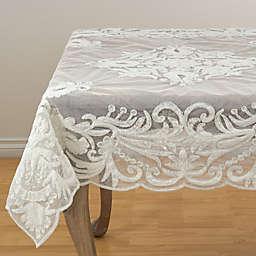 Saro Lifestyle Alessandra Beaded Tablecloth