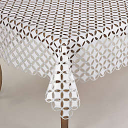 Saro Lifestyle Buche de Noel Tablecloth