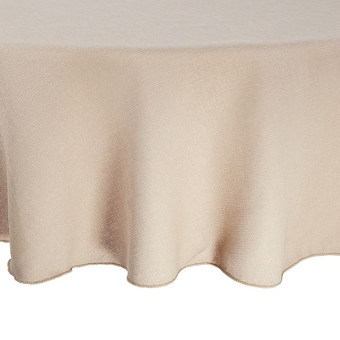 Alternate image 1 for Havana 72-Inch Round Tablecloth in Natural