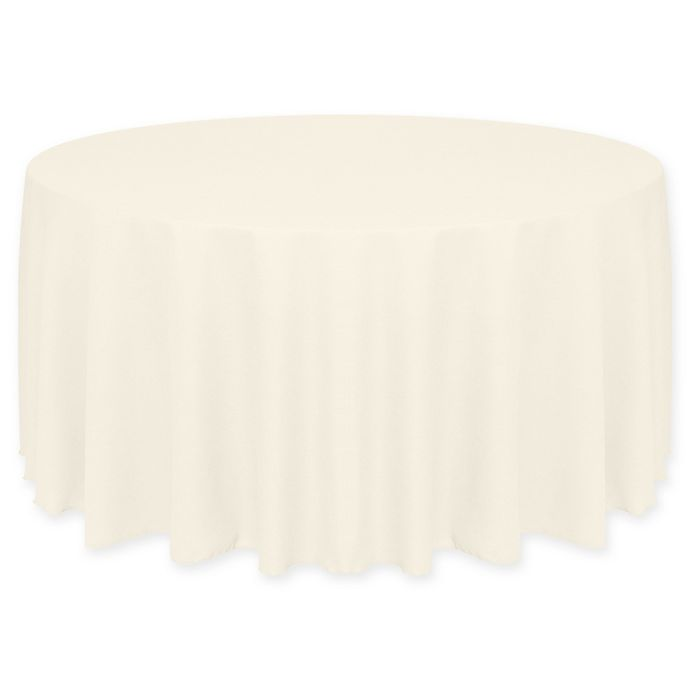 Alternate image 1 for Havana 72-Inch Round Tablecloth in Ivory/Cream