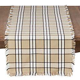 Saro Lifestyle Cachi Plaid Table Linen Collection